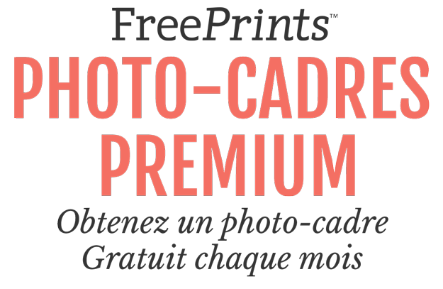 Ricevi un foto quadro gratis dall'app FreePrints Photo Tiles
